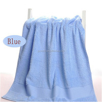 China Supplier Plain Dyed Thick And Big Bath Towel