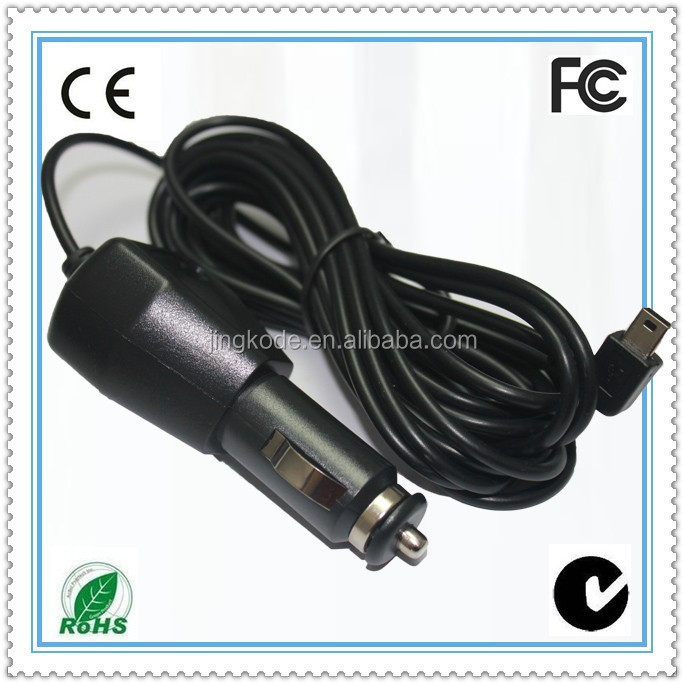 Micro USB fixed cable car charger for blackberry, HTC, Samsung, Nokia