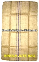 Biodegradable Eco Friendly Natural Mesh Jute Wine Bags