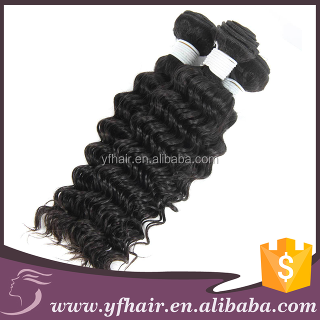 Yfhairextension remy virgin hair 8 to 32 inches wavy and curly peruvian, malaysain, brazilain, indian virgin hair