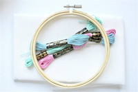 NEW DESIGN Wooden Embroidery Hoop Craft Hoop with Round Frame made in China