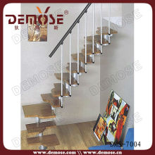 african wood types of staircase design indoor