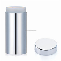 food grade 13oz /380ml silver chromed plastic capsules can