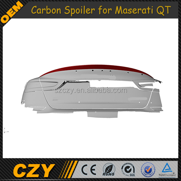 GT GTS P Style Carbon Tuning Auto Rear Wing for Maserati Quattroporte