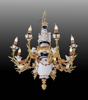 Antique Replicas Porcelain chandeliers