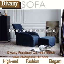 Modern nappa leather sofa