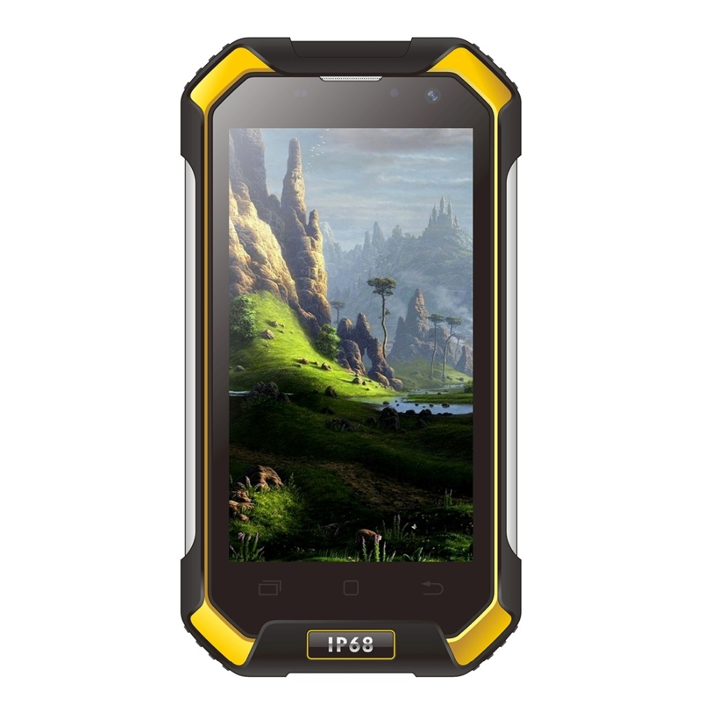 Blackview BV6000 Waterproof Cell <strong>Phone</strong> 4.7 Inch <strong>Android</strong> 6.0 Mobile <strong>Phone</strong> MT6755 Octa Core 3G RAM 32G ROM Smartphone