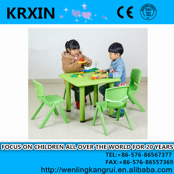 New design plastic childrens table and chairs for sale for 4 kids