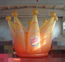 inflatable crown advertising and promotion