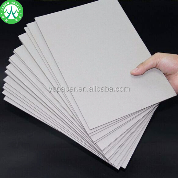 Paper mill for thick 300 gsm grey back cardboard paper