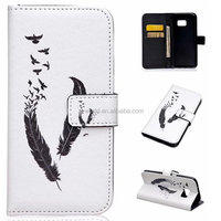 Mobile Phone Hard Case With Card Slot Luxury Genuine Universal leather cases for phones case