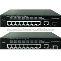 SPE-1209G-AF-120 8-port PoE Switch+1 Gigabit port 15.4W
