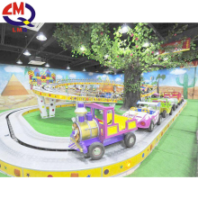 2017 new promotion high quality attractions children's rides mini shuttle