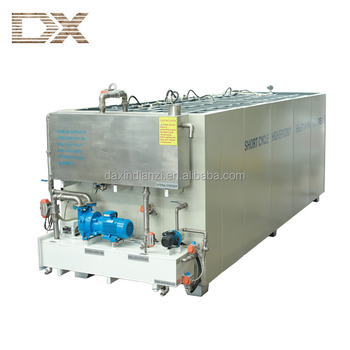 wood drying tank with low final moisture content