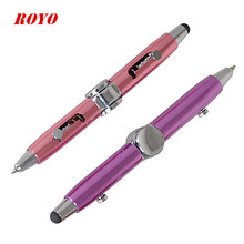 Promotional Ballpoint Pen Kids Toys Educational Stationery Product Gyro Fidget Toy Pen
