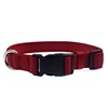 High Quality Fashion Waterproof Personalized Printed Logo Blank Nylon Padded Dog Collars