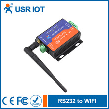 USR-WIFI232-603 V2 Wifi Serial Server with RS232 Terminal Interface Support DC Adapter and Terminal Power Supply