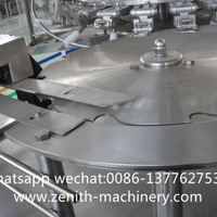 Automatic Carbonated Beverage Water Filling Process