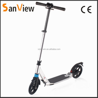 wholesale double suspension big wheel kick scooter for adults