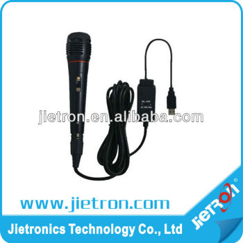 5 in 1 USB Microphone Compliant with Wii/PS2/PS3/PC/XBOX360 (JT-0109924)