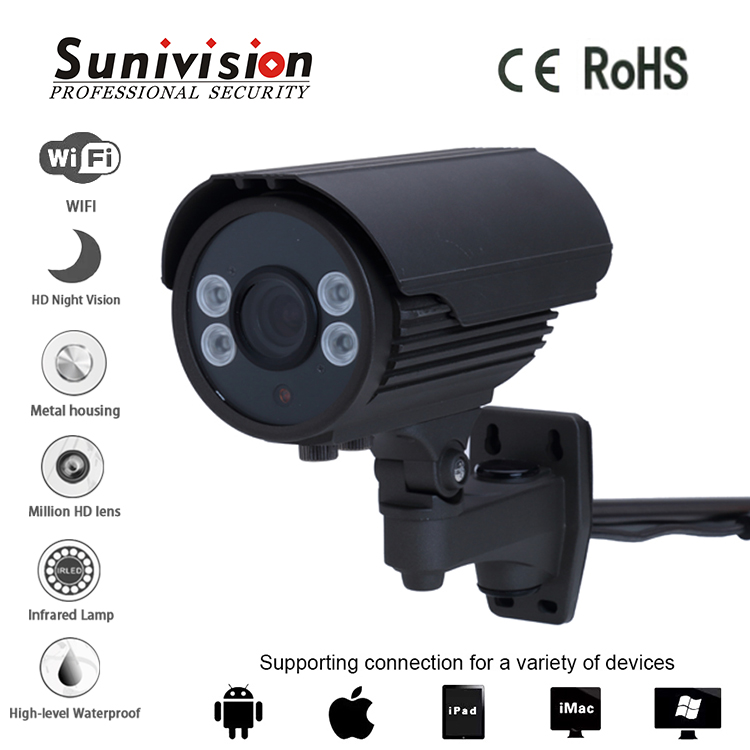 cctv camera system home <strong>security</strong> 4PCS-ARRAY IR 1Megpixel 720p HI3518E V200 +H42 ip camera