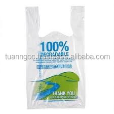 300+140*500 (20 mic) Logo printing hdpe t-shirt plastic bag for super market, retail store, house hold, daily, direct factory