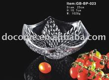 Glass/crystal confection tray plate