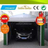 new style folding high-quality metal car shed roof design