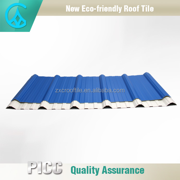 Plastic ultra weathering types of roof covering sheets
