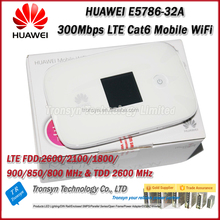New Arrival Original Unlock E5786 300Mbps Mini 3G 4G WiFi Router And 4G LTE Cat6 Mobile WiFi Hotspot