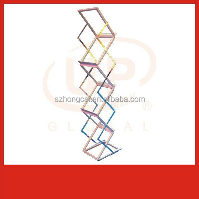 Zigzag A3/A4 acrylic magazine rack brochure holder