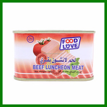 daily use product new wholesale african food canned beef luncheon meat 198g