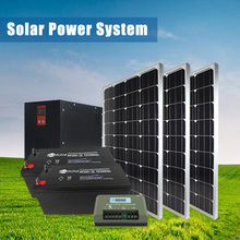 Complete set High conversion rate 2000W solar roof mounting system