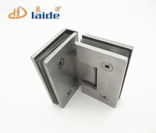 90 Degree Double Sides Shower Hinge, Stainless Steel Door Hinge