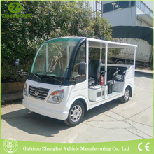 newest products unclosed style elegant pure white mini safty electric mini city sightseeing bus for sale