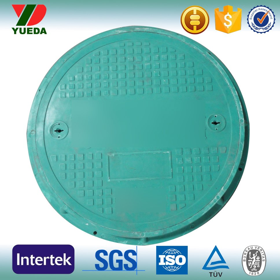 plastic/composite manhole cover and frame en124