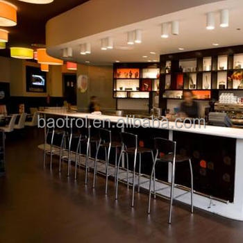 Shenzhen acrylic bar counter nightclub furniture/commercial furniture
