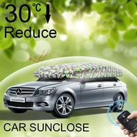 SUNCLOSE all type of best quality car seat covers waterproof retractable car cover