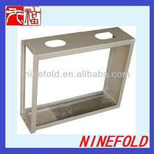 customized stamped sheet metal box frame for electronics