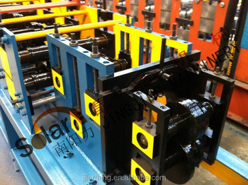 roll forming gutter water machine