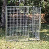 stainless steel dog cage chain link dog kennel dog cage for sale