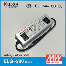 MEAN WELL 200w 42v ELG-200-42 dimmable UL TUV led driver
