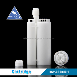 KS-2 385ml 3:1 Clear Epoxy Resin and Silicone Sealant Cartridge