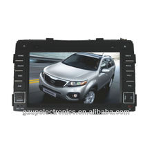 all fucntions 7 inch special car audio and video for KIA sorento 2010 with canbus GPS BT TV steering wheel control