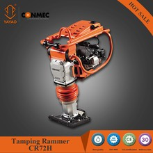 4-stroke 5.5hp Honda engine petrol tamping rammer with integrated fuel valve