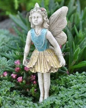 Costomize resin garden angle figure crafts pretty miniature fairy statue fashion new mold