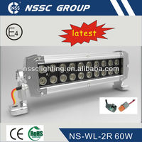 2013 NSSC 60W Driving Lamp 4x4 off road ,Truck ,Mining ,Boat ,4x4 ,led lamp LED Work Light Bar