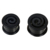 High quality black silicone ear expander plugs jewelry wholesale