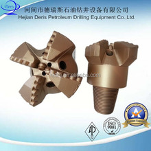 economic 3 -wing pdc drag bit step well drilling drag bit