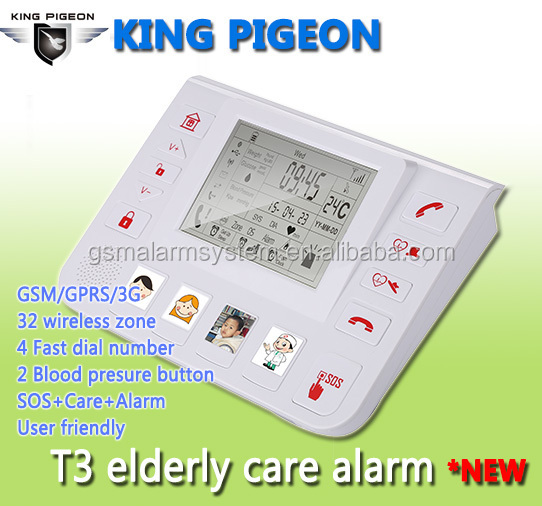 Health & medical home monitor elder care equipment for Elderly Home care with Blood pressure monitoring